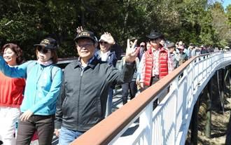 南投縣議會考察清境高空觀景步道 議員肯定觀光效益
