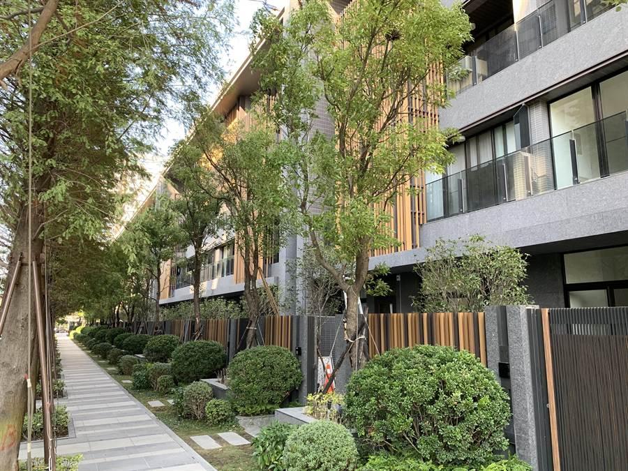 台中市單元二、單元三緊臨七期新市政中心,強調低密度、低建蔽、低容積,有「七期後花園」之稱。(盧金足攝)