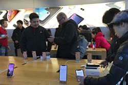 本土品牌強力競爭 陸iPhone銷量崩跌