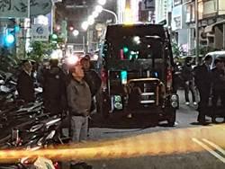 高雄市警方攻堅逮臺南放爆裂物嫌犯