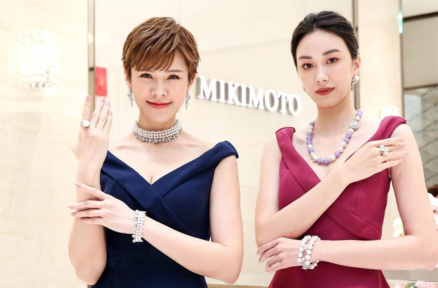 MIKIMOTO台北101頂級珠寶旗艦店開幕。(陳俊吉攝)
