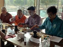 陳吉仲陪同立委候選人 關心新竹水月休閒農業區發展