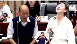 在黃捷選區作民調 網看韓票數竟喊:罷免她不難了