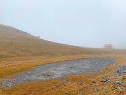 久旱不雨 玉山國家公園乾極了