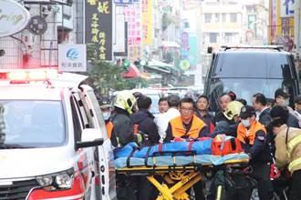 對峙12時!國民黨部炸彈客投降送醫