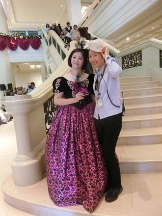 奇美博物館歐風耶誕化妝舞會登場 首日吸引萬人朝聖