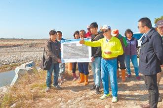 大甲溪河心導正 明年汛期前完工
