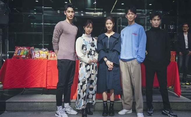 章廣辰(左起)、嚴正嵐、方志友、吳念軒、陳彥允。百聿數碼創意提供