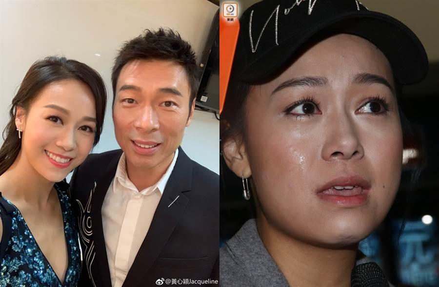 黃心穎今回香港,聲淚俱下談過去8個月近況。(圖/翻攝自黃心穎Jacqueline微博;取自《on.cc東網》)