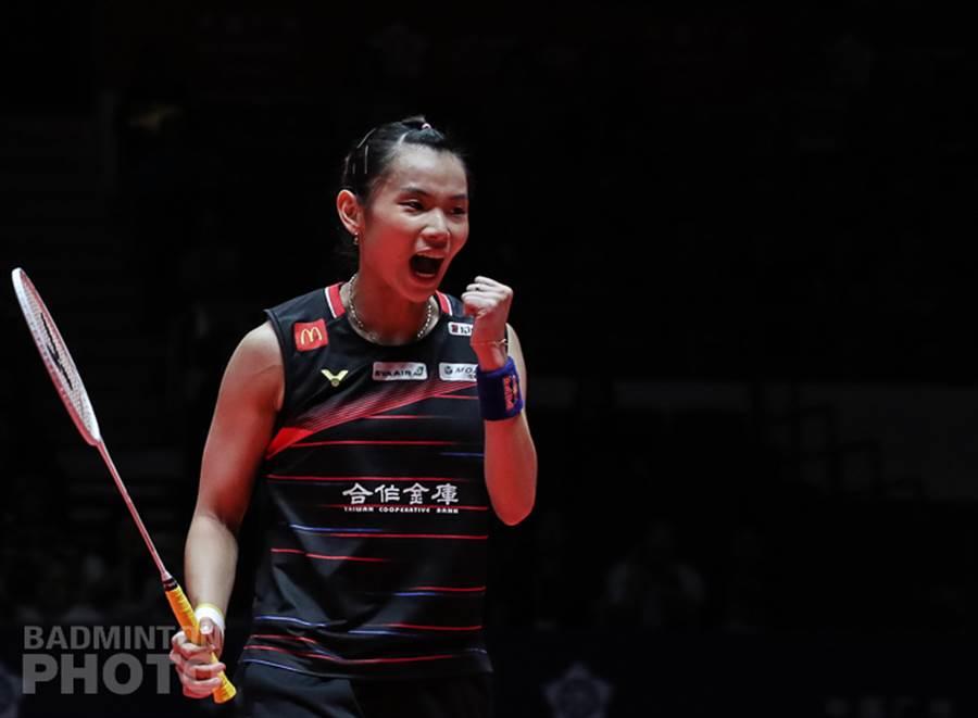 戴資穎2020年賽季第一場比賽,首局氣勢如虹。(資料照/Badminton Photo提供)