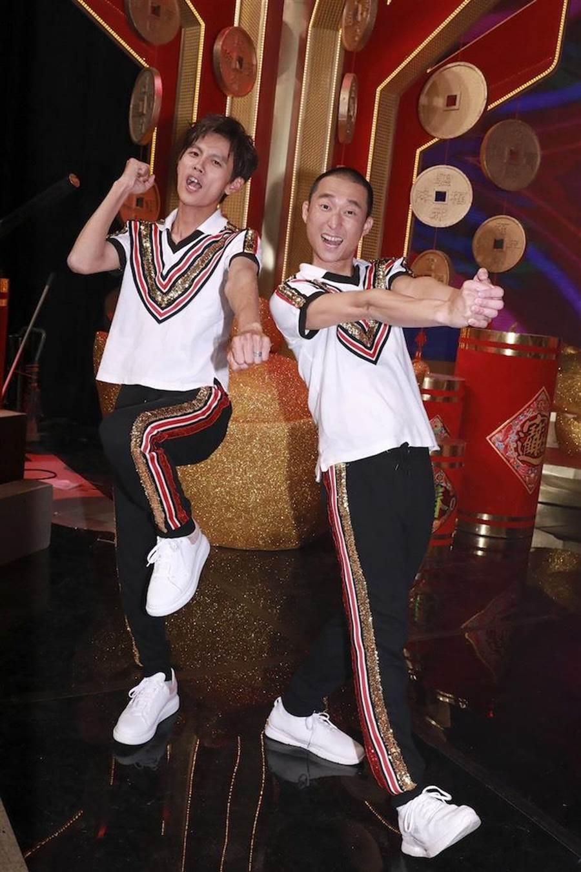 阿翔(左)和浩子。民視提供