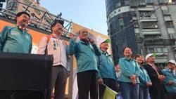 蘇貞昌、賴清德、吳秉叡齊呼「三張選票顧台灣」