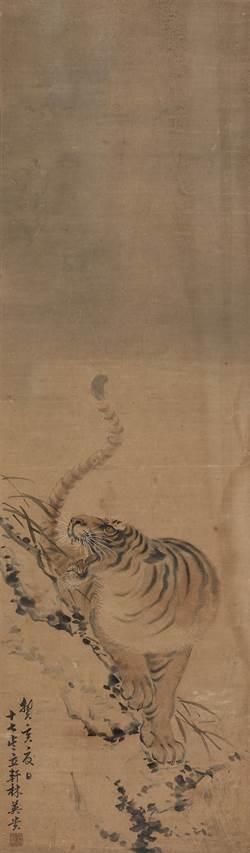 國寶畫家林玉山作品展開幕 首件虎畫吸睛