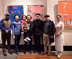 黃騰輝上海舉辦「藝術回顧展」 登上新聞頭條