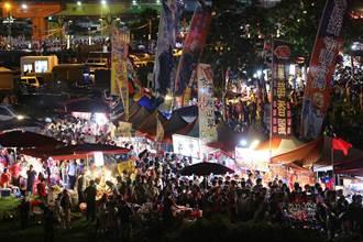 韓國瑜造勢場這個安排...夜市攤商樂歪!
