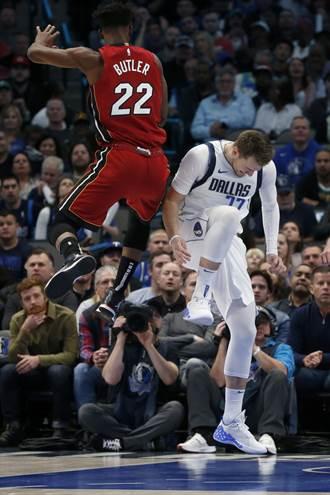 NBA》東契奇扭傷退場 獨行俠無力逆轉