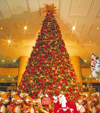飯店耶誕樹經典不朽