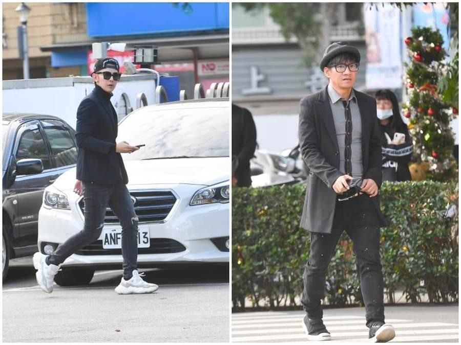 汪東城(左)王宏恩。影視攝影組