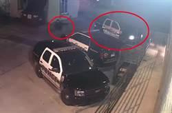 驚悚影像曝光!警坐巡邏車內 遭「行刑式」連開10槍爆頭 慘死警局外