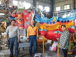 台灣花燈聞名海外 馬國寺廟跨海訂製農曆年主燈