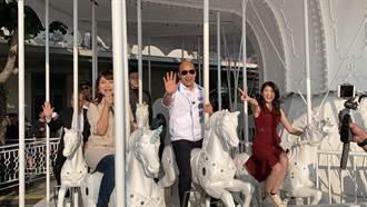 「特勤吳彥祖」隨韓國瑜搭旋轉木馬 因這事一秒下馬