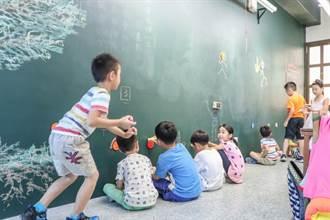 學生餐廳變文青、黑板樂塗鴉!校園改造王看設計品美學