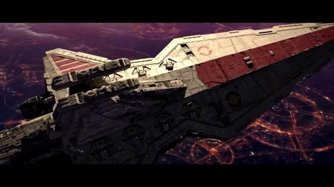 退休的美國空軍中將史蒂文‧卡瓦斯特認為,太空將是未來的戰場,掌握太空科技就具有戰略優勢。(圖/ Lucasfilm)