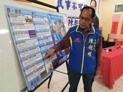 陳超明發表「農漁勞工我來顧」政見