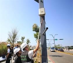 中市完成全市328校布建空氣監視器,24小時檢測空品
