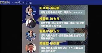 【idcc之亂3】羞辱藍委是四傻 ptt帳號好眼熟