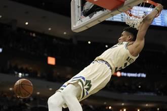 NBA》字母哥狂砍48分無用 公鹿18連勝止步