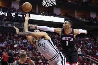 NBA》火箭斬殺馬刺 落後24分驚天逆襲