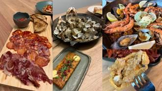 米其林推薦西班牙料理登台!蒜香油蝦、鐵鍋飯狂噴海味