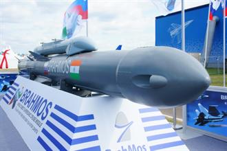 印度成功試射「布拉莫斯」地對地超音速巡航導彈