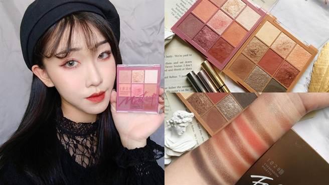 美妝部落客Jennie使用本次新品眼影後對於質地和持久力都給予好評。(圖/IG@liao.makeup)