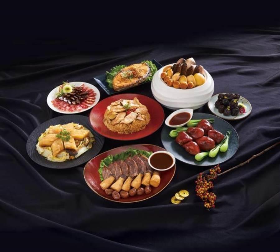 「台北喜來登米其林二星珍品御饗年菜」,東森價$8888。圖:東森提供