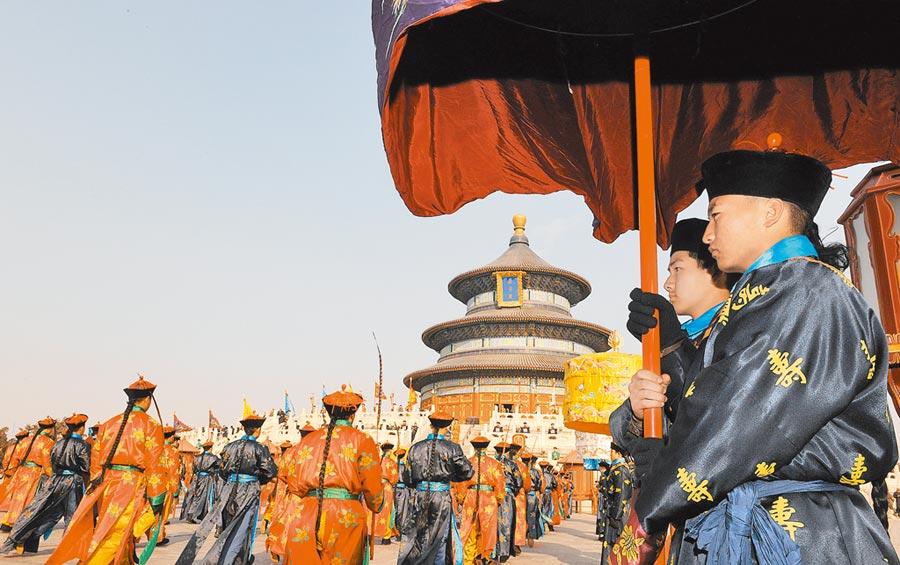 中國古代王朝都城發展不斷傳承創新。(新華社資料照片)