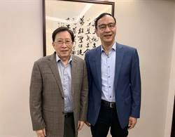 朱立倫拜會劉兆玄 聘歷任行政院長當韓競總榮譽副主委