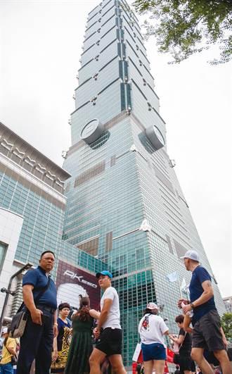 北市地王 101大樓7度蟬聯