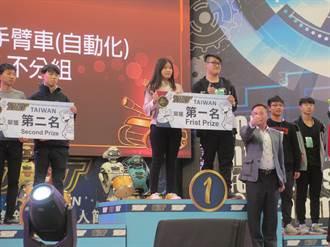 南開學子奪全能機器人賽冠軍