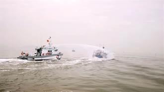 海巡最速艇進駐金門 專抓越界大陸漁船