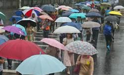 今明降雨熱區出爐 氣象局:周日再變天