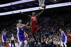 NBA》費城淪陷!熱火破七六人主場不敗