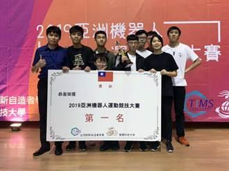 2019亞洲智慧型機器人大賽 龍華科大獲23項大獎