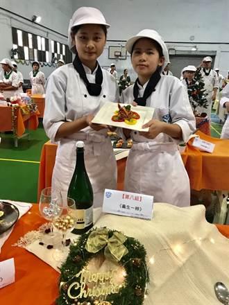 仰德高中廚神創意料理競賽 學生各展才華