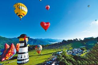 延長熱氣球季 帶動部落旅遊