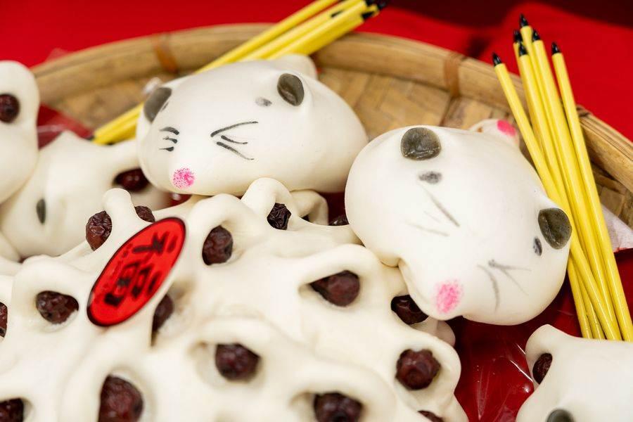 合興糕糰店推出鼠年限定的「鼠錢包」。(圖取自台北市市場處官網)