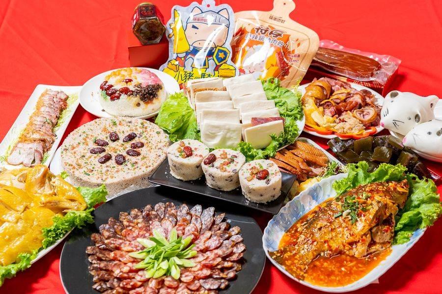 南門市場集結了億長御坊、逸湘齋、合興糕糰店等名攤,每攤都精心準備了各道佳餚,包含經典料理及全新菜色。(圖取自台北市市場處官網)