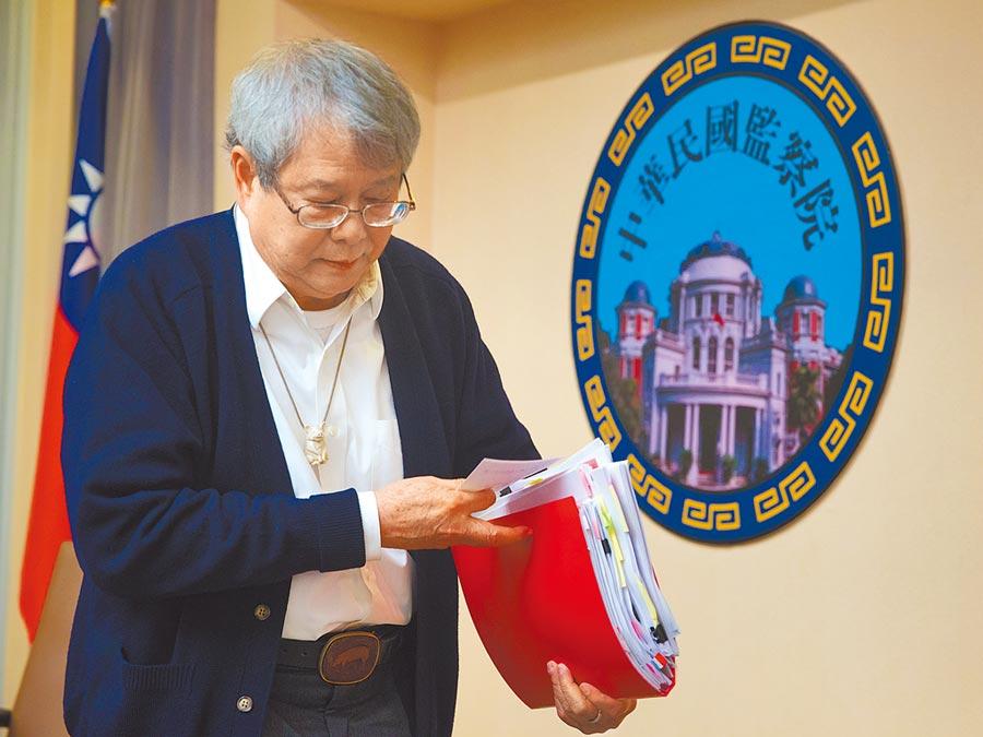監察委員陳師孟決定就馬英九被訴洩密案,在明年元月初約詢判馬無罪的台北地院法官,引起法界反彈。(本報資料照片)