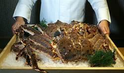 唯一活體鱈蟹懷石料理  台北月夜岩究極領略蟹之味